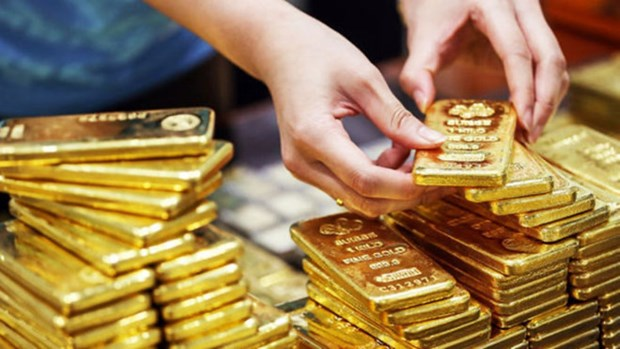 6月3日越南国内黄金价格下降15万越盾 hinh anh 1