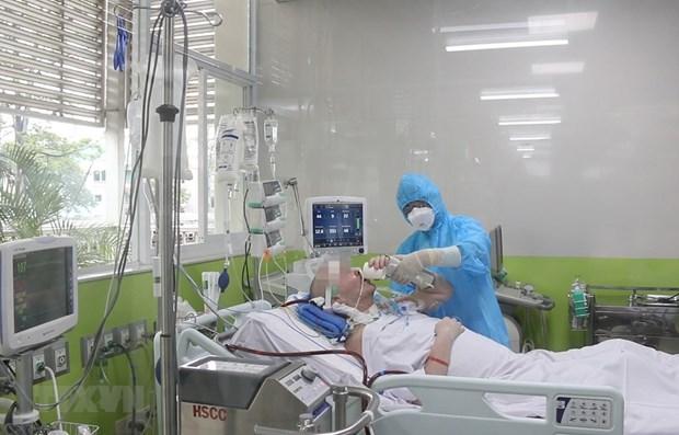 新冠肺炎疫情:英国飞行员患者的左肺通气率超过50% hinh anh 1