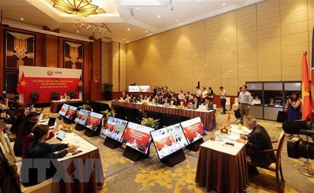 ASEAN 2020:各国经济部长一致同意不设置任何新技术壁垒 hinh anh 1