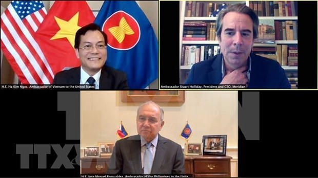 美国企业愿意加强与越南的合作 hinh anh 1
