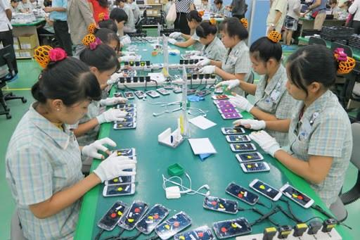 2020年前5月越南手机及零配件出口额超过170亿美元 hinh anh 1