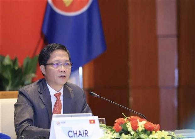 东盟促进贸易便利化和供应链的对接 hinh anh 2
