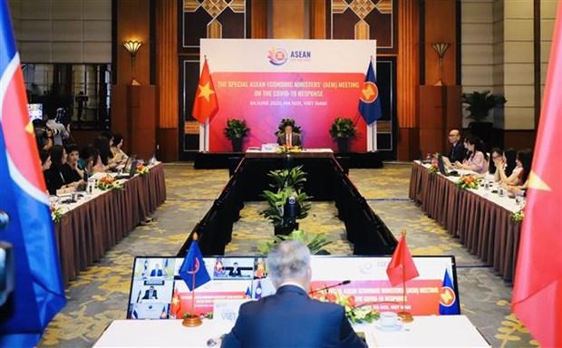 东盟促进贸易便利化和供应链的对接 hinh anh 1