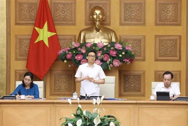 """武德儋副总理: """"安全的越南""""的旅游推广应与疫情防控工作相结合 hinh anh 1"""