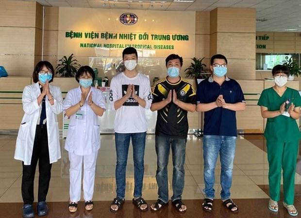 越南新冠肺炎患者治愈率达近94% hinh anh 1