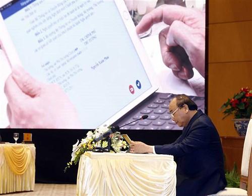 越南力争跻身全球电子政务五十强行列 hinh anh 1