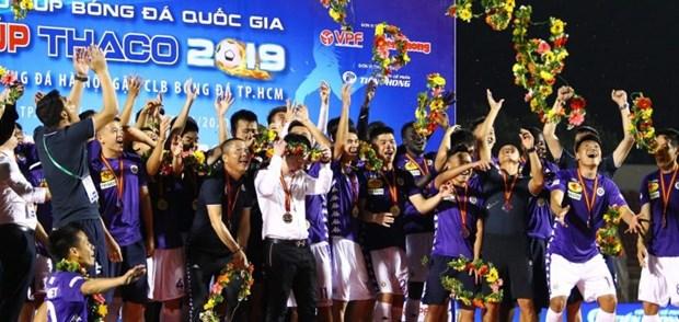 亚洲足球联合会对2020年越南职业足球联赛的举办给予高度评价 hinh anh 1