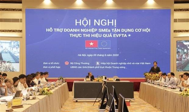 越南积极协助中小企业充分利用EVFTA带来的机遇 hinh anh 1
