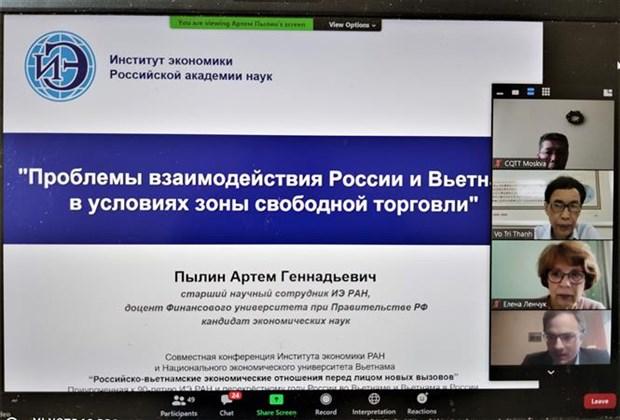 """""""越南与俄罗斯面临新挑战的经济关系""""的研讨会在河内举行 hinh anh 1"""