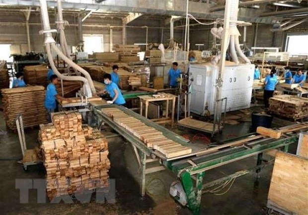 越南木材产业靠新市场实现增长 hinh anh 2