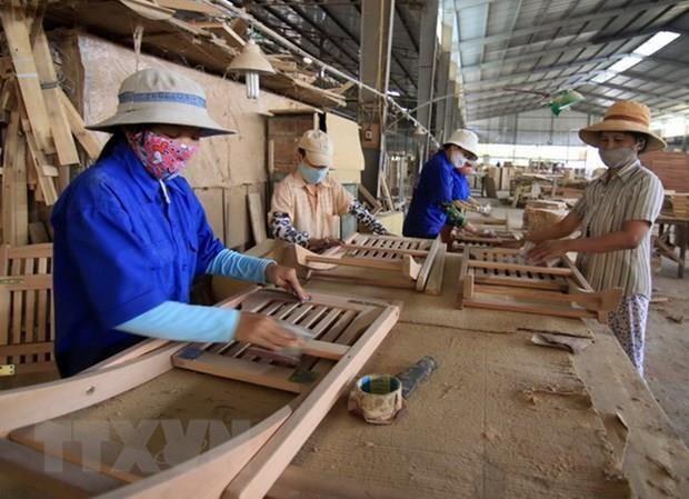 越南木材产业靠新市场实现增长 hinh anh 1