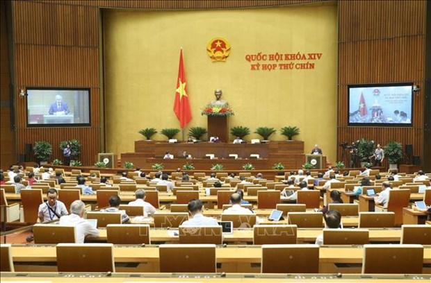 越南第十四届国会国会第九次会议公报(第十号) hinh anh 1
