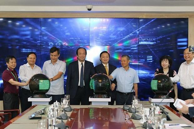 越南自然资源与环境部智能管理中心正式启用 hinh anh 1