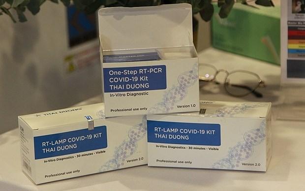 越南新公布两套符合国际标准的新冠病毒检测试剂盒 hinh anh 1