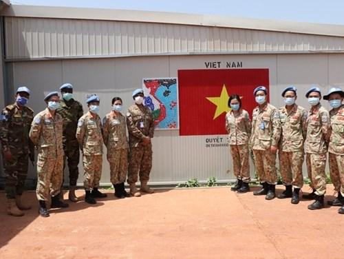 """越南野战医院在南苏丹执行的""""特别任务"""" hinh anh 1"""