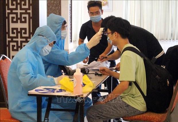 7日上午越南无新增新冠肺炎确诊病例 检测呈阳性反应患者只剩下9名 hinh anh 1
