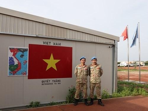 """越南野战医院在南苏丹执行的""""特别任务"""" hinh anh 6"""