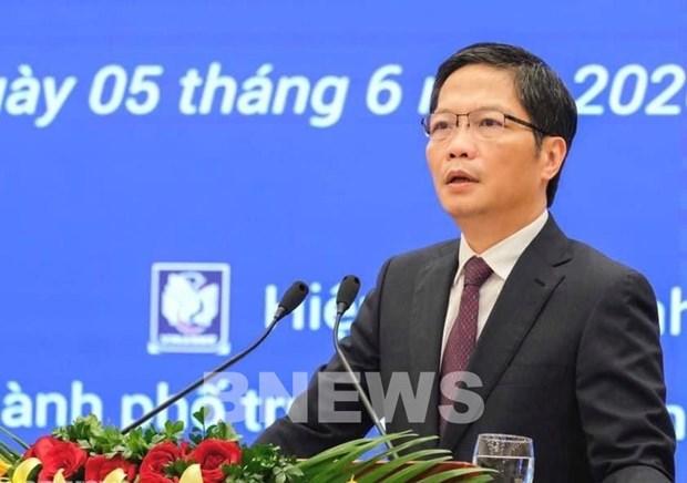 越南工贸部长:EVFTA协定为企业参与全球供应链铺平道路 hinh anh 1