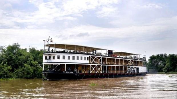 中国公司拟在湄公河上建设豪华游轮港 hinh anh 1