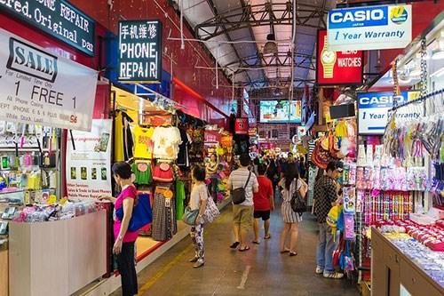 新加坡零售额创35年来新低 hinh anh 1