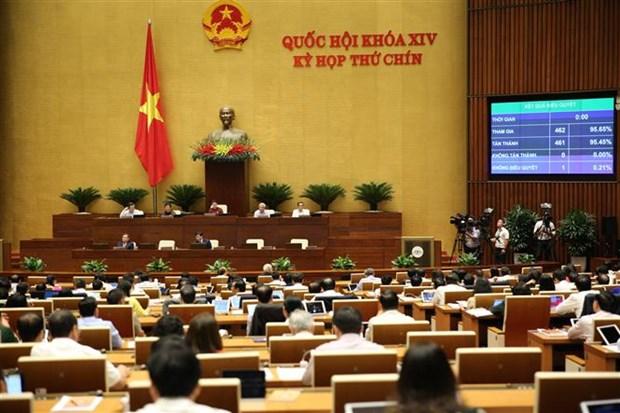 越南国会第九次会议通过批准EVIPA的决议 hinh anh 1