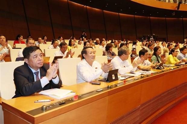 越南国会批准《越南与欧盟自由贸易协定》 hinh anh 1