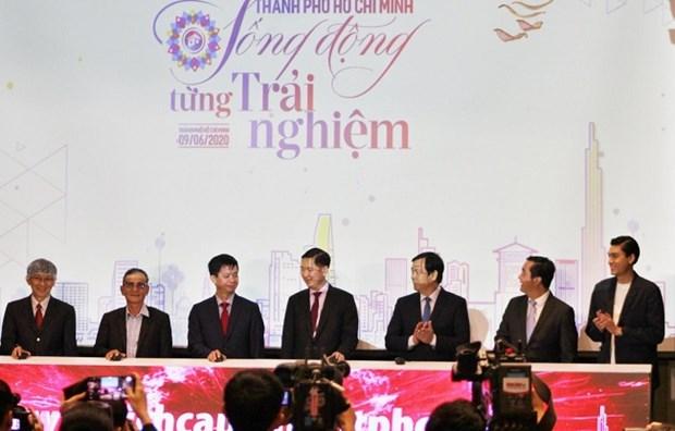 2020年胡志明市国内旅游刺激计划正式发起 hinh anh 1
