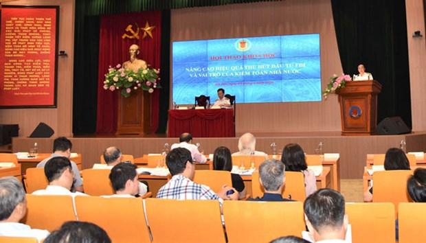 提高引进外资效果和国家审计机关的作用 hinh anh 2