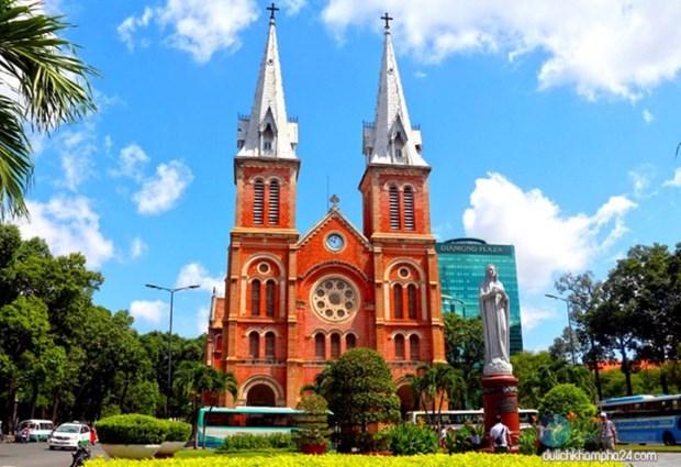 胡志明市圣母教堂被评为世界19座最美教堂之一 hinh anh 1