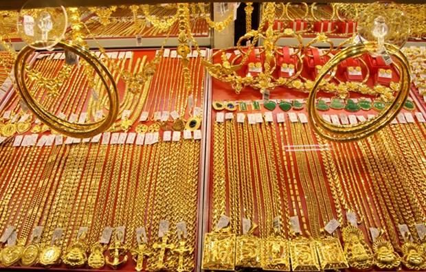 6月9日越南国内黄金价格上涨10万越盾 hinh anh 1