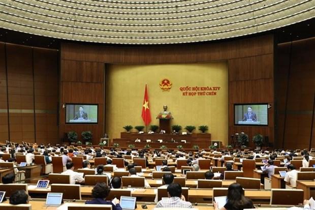越南第十四届国会第九次会议:对2021年国会监督计划的决议进行表决 hinh anh 1