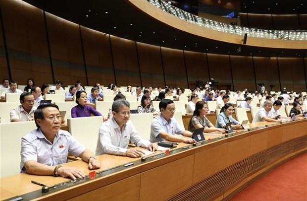 越南第十四届国会第九次会议:通过2021年国会监督计划的决议 hinh anh 1