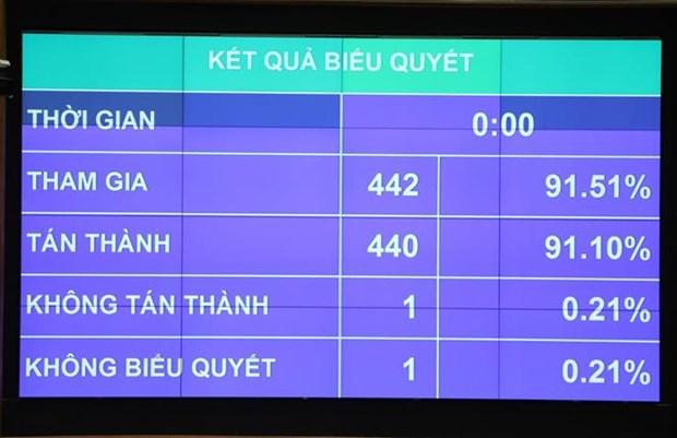 越南第十四届国会第九次会议:通过2021年国会监督计划的决议 hinh anh 2