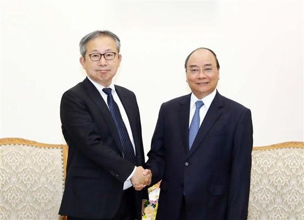 越南一向将日本视为长期且头等重要的伙伴 hinh anh 1