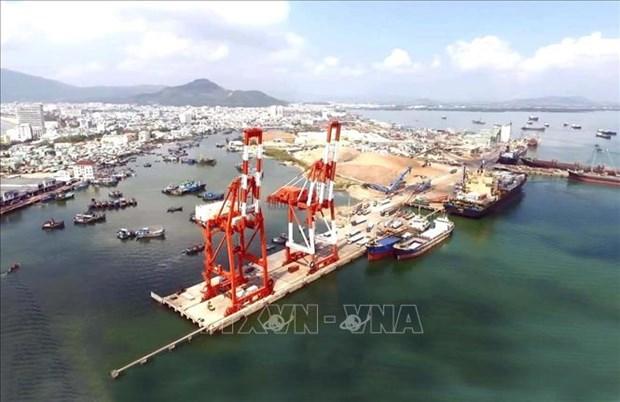 今年前5月归仁港货物吞吐量增长12% hinh anh 1