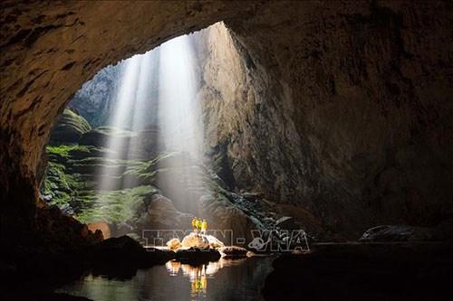 越南广平省山洞窟被列入全球20个破吉尼斯世界记录景点名单 hinh anh 1