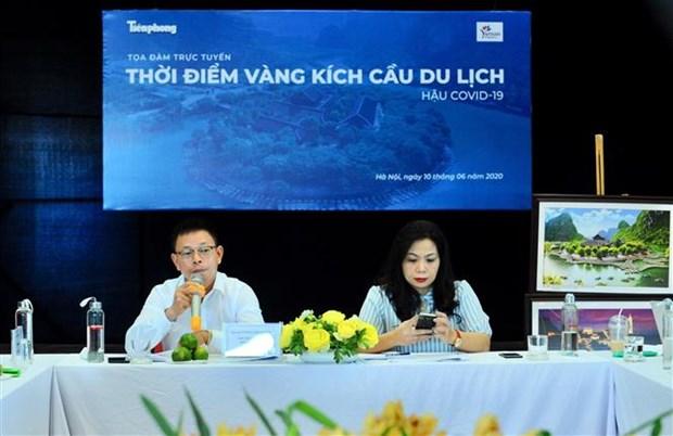 若第三季度开门迎客越南国际游客到访量可达600至800万人次 hinh anh 1
