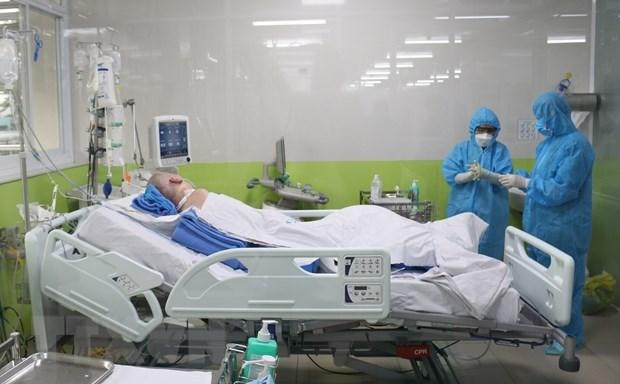 新冠肺炎疫情:拯救第91例病例生命旅程和越南人文精神的烙印 hinh anh 2