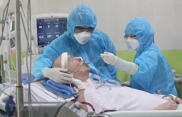 新冠肺炎疫情:拯救第91例病例生命旅程和越南人文精神的烙印 hinh anh 1