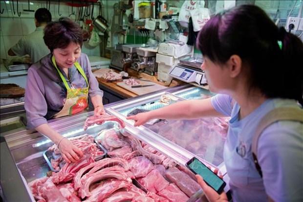 越南猪肉及猪肉制品进口总量增长近300% hinh anh 1