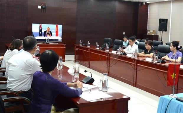 岘港市与澳大利亚黄金海岸市建立友好合作关系 hinh anh 2