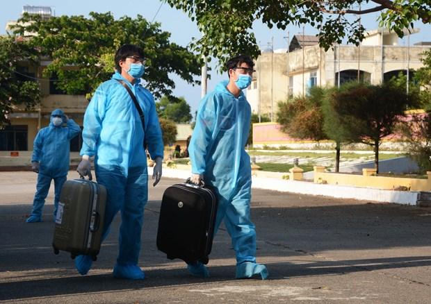 新冠肺炎疫情:越南治愈出院病例占确诊病例总数的96% hinh anh 1