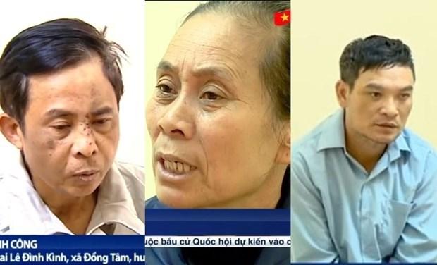 河内市同心乡扰乱社会秩序案:建议对29名嫌犯提起公诉 hinh anh 1