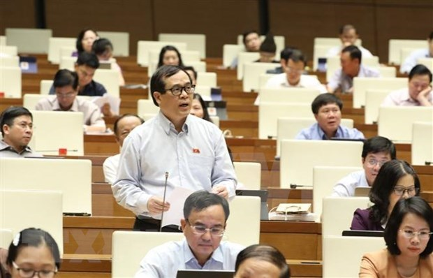 第十四届国会第九次会议:讨论经济社会和国家预算问题 hinh anh 1