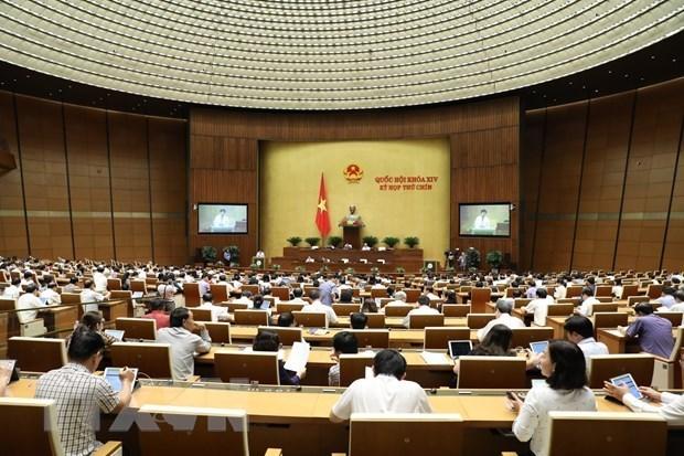 第十四届国会第九次会议明日进入最后一个工作周 讨论和决定许多重要问题 hinh anh 1
