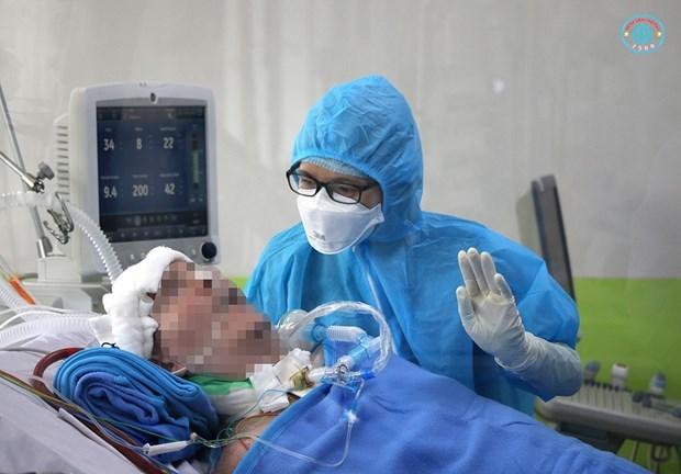 6月15日下午越南无新增病例 英国飞行员已3天自主呼吸 hinh anh 1