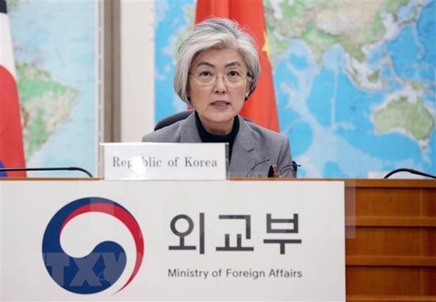 韩国官员与东盟领导就双边合作通电话 hinh anh 1