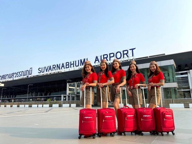 泰国越捷航空在全泰国新开通五条国内航线 hinh anh 2