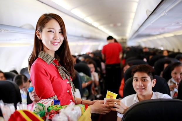 泰国越捷航空在全泰国新开通五条国内航线 hinh anh 1