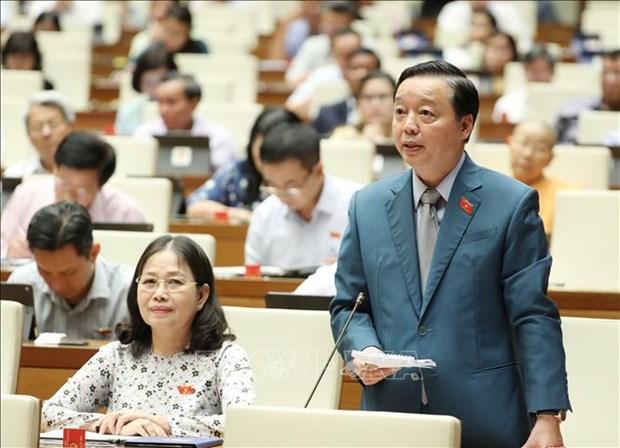 越南第十四届国会第九次会议:加强湄公河流域水务国际合作 hinh anh 1